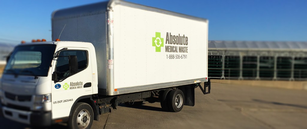 Absolute Medical Waste Company Truck