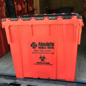 Absolute Medical Waste Biohazard Container